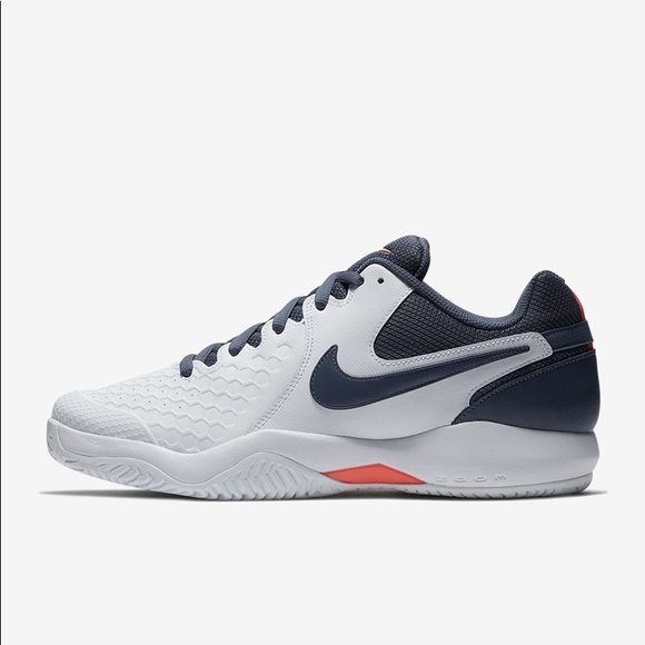 e0bb199eb8f6 Nike Air Zoom Resistance Tennis Shoes 918194 148